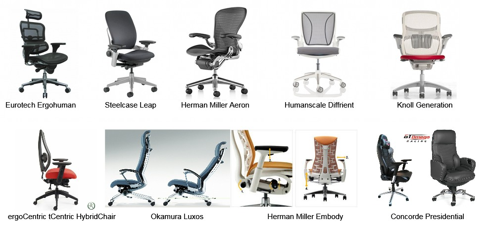 Conventional Chair Images