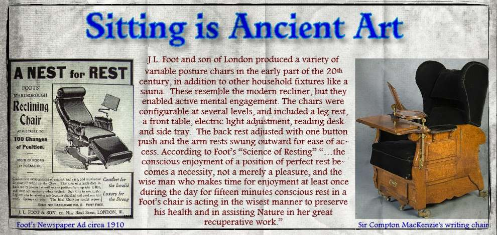 Sitting is Ancient Art Web